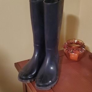 Coach NWT rubber rainboots